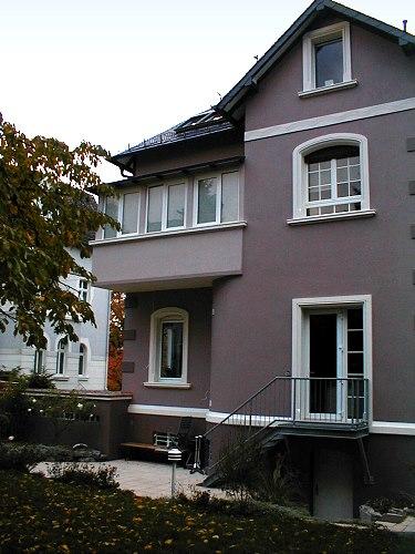 Fassade vorher nachher  Fotogalerie Vorher- und Nachher-Ansichten Fassaden, Innenausbau ...