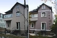 Fassade vorher nachher  Fotogalerie Fotos vorher und nachher - Maler, Raum- und ...