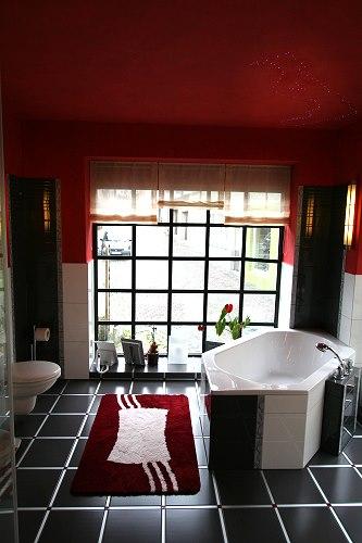 Badezimmer : Badezimmer Grau Rot Badezimmer Grau Rot - Badezimmer ... Badezimmer Grau Rot